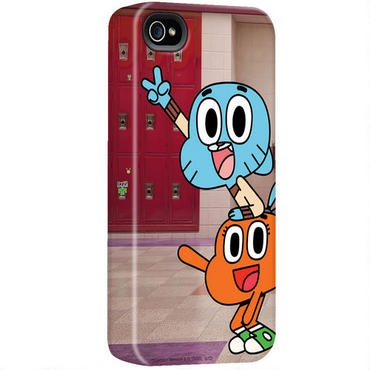 The Amazing World of Gumball Darwin and Gumball iPhone Case