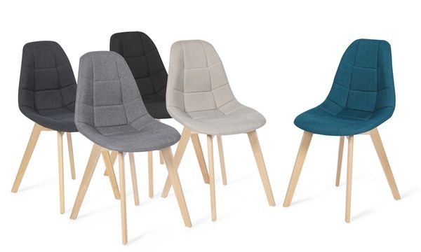 2 ou 4 chaises scandinaves gaida en