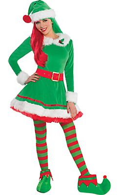 Christmas Elf Costumes, Sexy Elf Costumes for Women & Elf ...