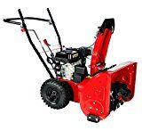 24 in. 196cc Two-Stage Snow Blower Gas Snow Engine Thrower