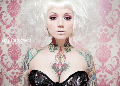 awesome #tattooed girl