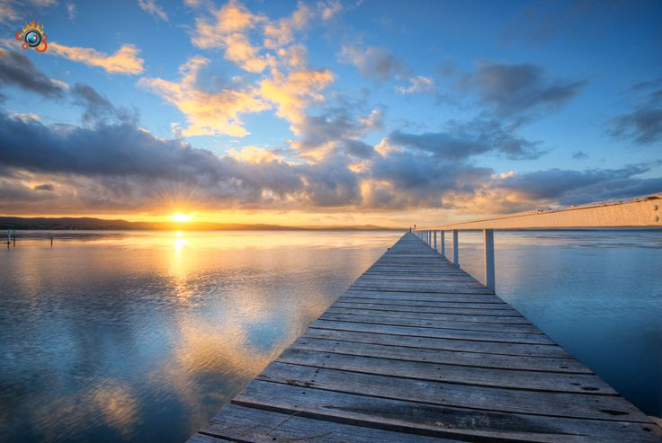 Long Jetty is one of the most photographed locations on the NSW Central Coast. A beautiful jetty stretches out into the lake making for stunning photos. #Jetty #CentralCoast #NSW #Sunset