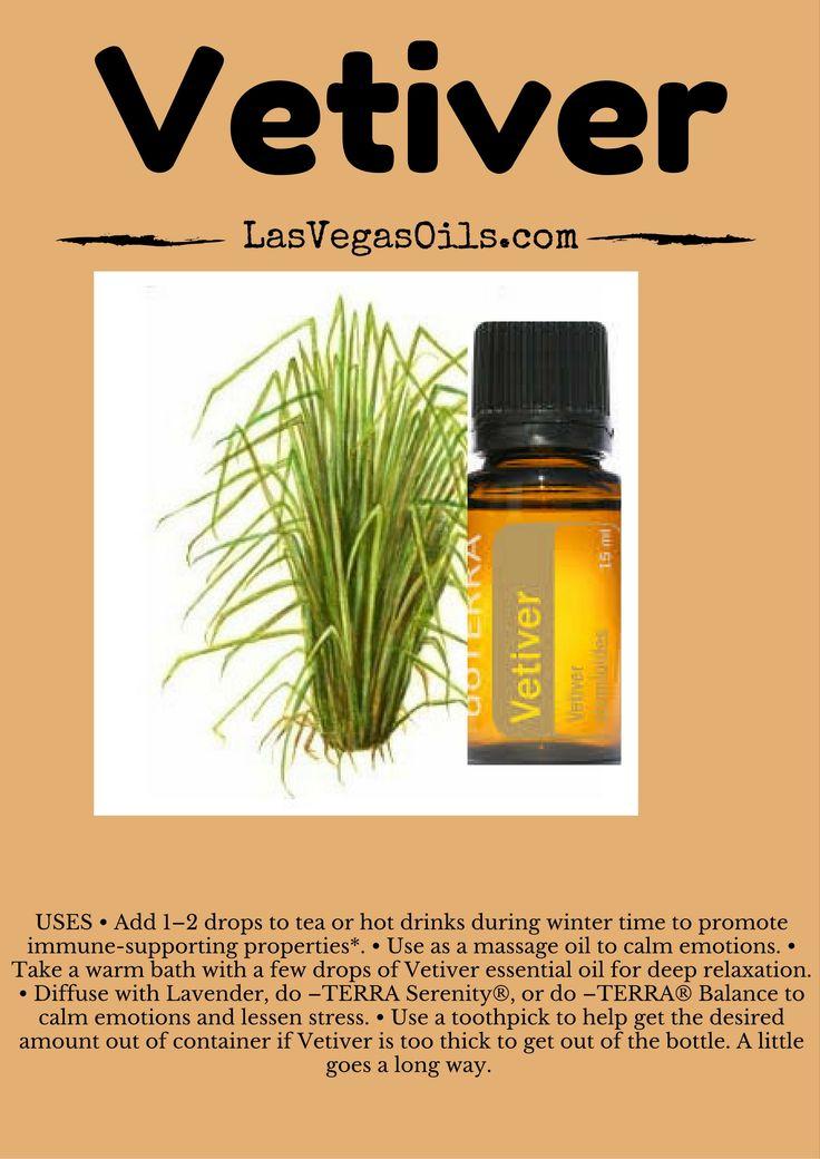 Vetiver  Doterra Essential Oils www.LasVegasOils.com