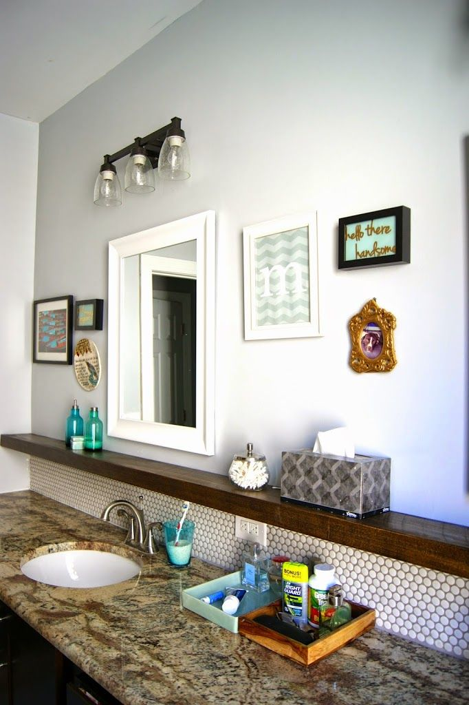 Great master bathroom renovation! Love the before and afters!