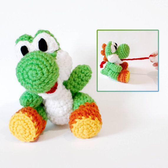 Knitting Pattern For Yoshi Toy : Plush dolls, Amigurumi and Plush on Pinterest