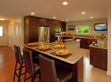 shaped island design ideas pictures remodel and decor kitchen