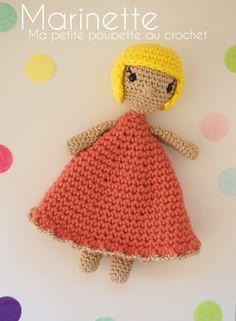 Marinette, ma petite poupette au crochet – Tuto poupée / amigurumi – Le blog de Caro Tricote