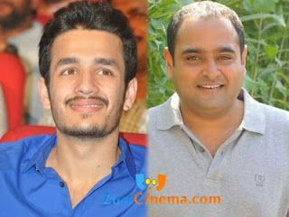Akhil Akkineni's debutant film will be directed by Manam fame Vikram Kumar. Nagarjuna was happy with the success of Manam