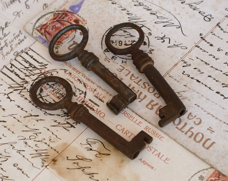 Antique Skeleton Keys for Art and Craft Craft Supplies by artsob