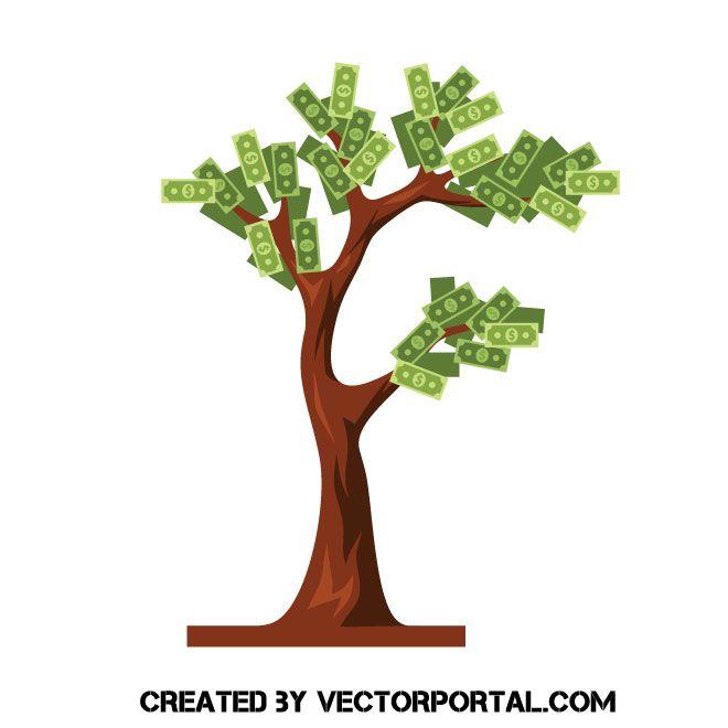 Money Tree Vector Money Trees Vector Free Vector Images