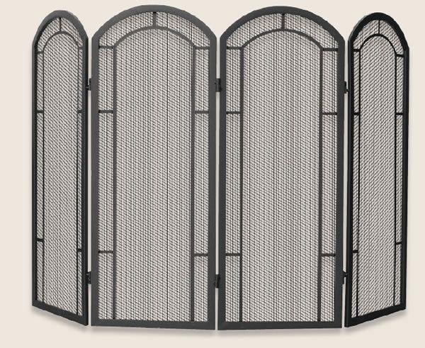 Terrific Uniflame 4 Panel Black Wrought Iron Screen S 1130 In 2019 Download Free Architecture Designs Photstoregrimeyleaguecom
