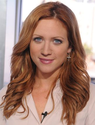 Brittany Snow Natural Hair Color | brittany snow brittany snow s red is gorgeous but maintenance can be ...