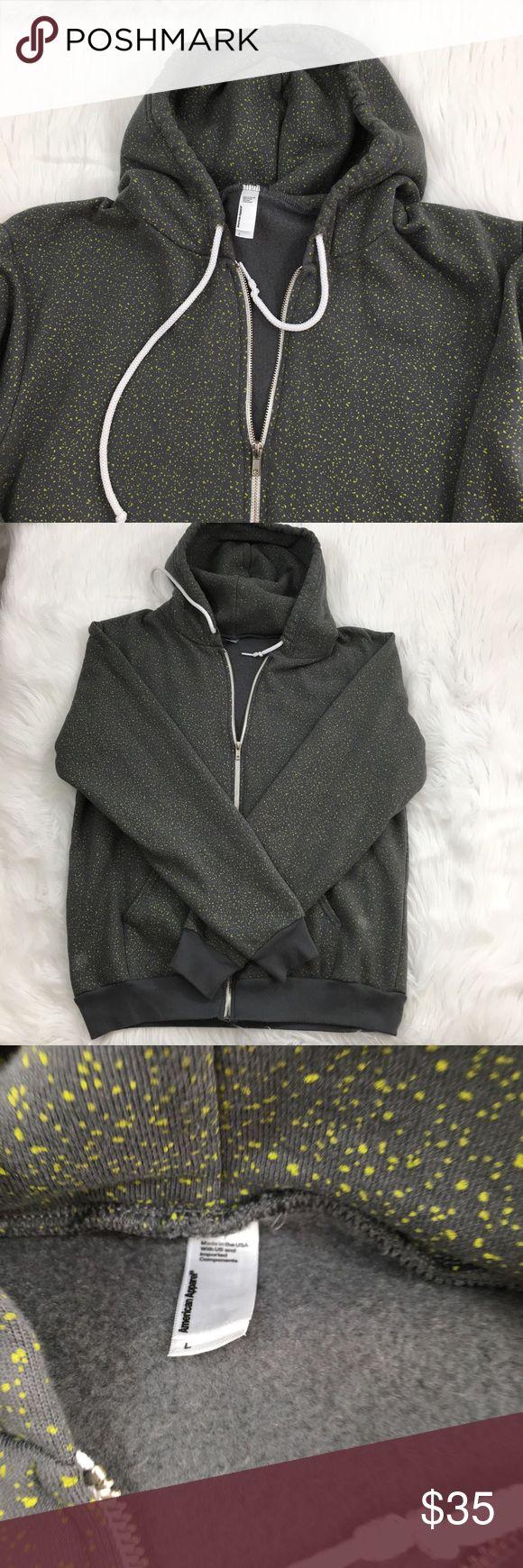 American Apparel Flex Fleece Hoodie New without tags. Unisex hoodie from American Apparel. It's very comfortable and warm. American Apparel Jackets & Coats