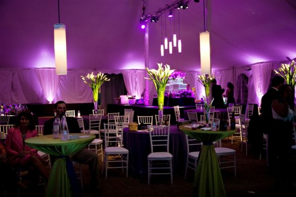 Schöne Dekoideen für extravagante Hochzeitsdekoration  -  wedding table decoration