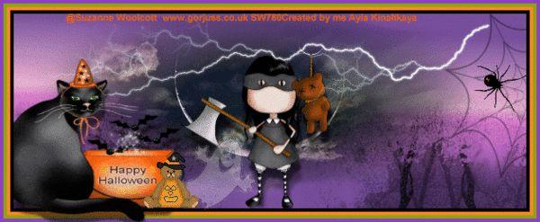 Halloween ,animation, tag by ayla kinalikaya my psp work