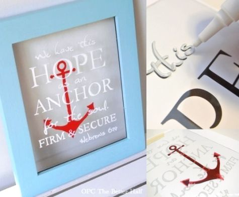 How to Write on Glass. It's as simple as using a glass paint pen!