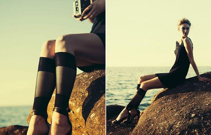 Incanta le tue gambe con i collant di Sara Borghi Hosiery