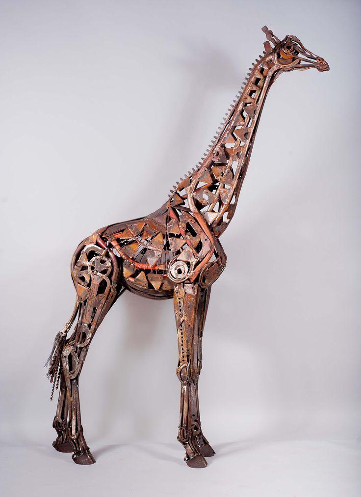Hammer Horned Giraffe, por Harriet Mead