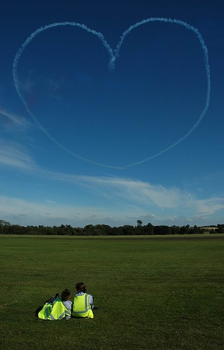 Love Is In The Air - By The Red Arrows by ME!