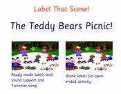 Teddy Bear Labels infants