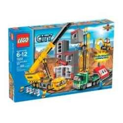 Lego City Construction Site and Accessories - Lego City is great fun for kids to collect and there are plenty of options. You can collect the Lego City Police Sets, houses, mini-figures, vehicles, and lots more to make a realistic city.    Lego City is great fun for kids to collect and there are plenty of options. You can collect the Lego...