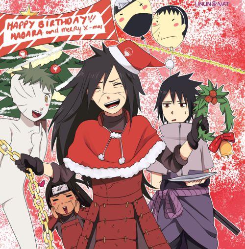 uchiha family christmas-#7