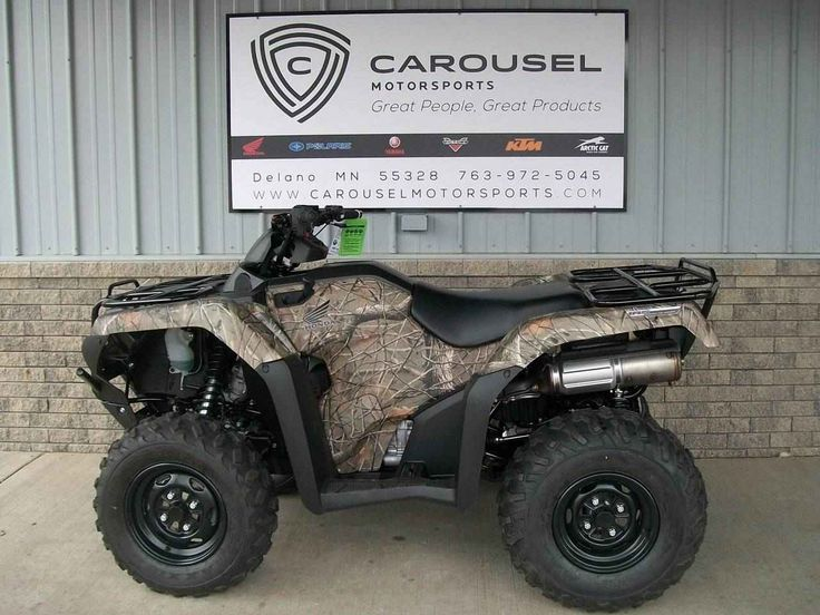 New 2017 Honda FourTrax® Rancher® 4x4 DCT IRS EPS ATVs For Sale in Minnesota. GET THIS NEW 2017 HONDA RANCHER, MODEL # TRX420FA6 IN TOUGH CAMO FINISH NOW ON SALE FOR A GREAT PRICE  AT CAROUSEL MOTORSPORTS IN DELANO!! Please call for current pricing.  Manufacturer allows advertising only MSRP.  MSRP on this model, TRX420FA6 is $ 8,449.00 + $ 350.00 destination charge. Honda's Ranchers have long been the best-selling all-terrain vehicles in America—and they didn't get there by…