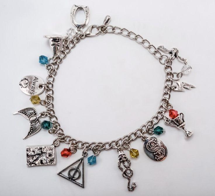 Harry Potter Charm Bracelet #charm-bracelet #Harry-Potter #harry-potter-bracelet