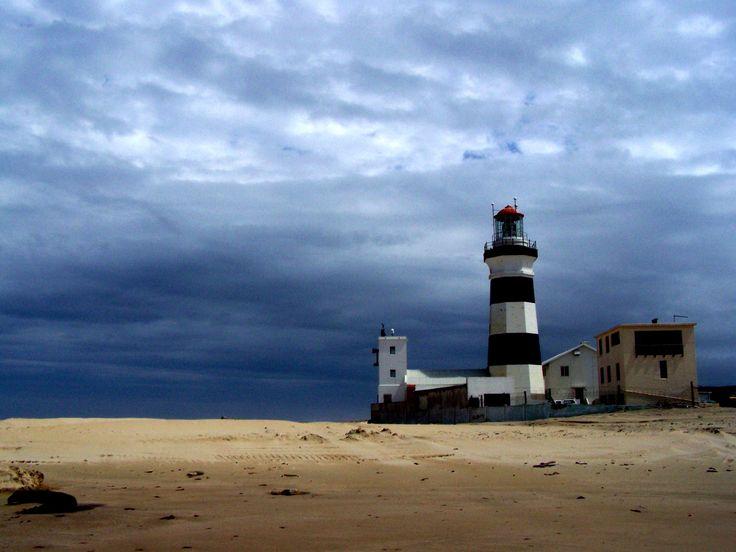 Lighthouse At Cape Recife Port Elizabeth South Africa