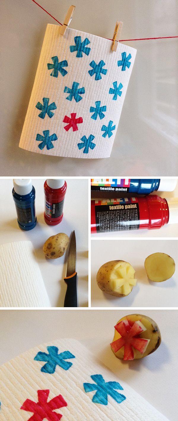 Tiskirätti. lasten | askartelu | joulu | käsityöt | koti | joululahja | DIY ideas | kid crafts | christmas | home | present | Pikku Kakkonen