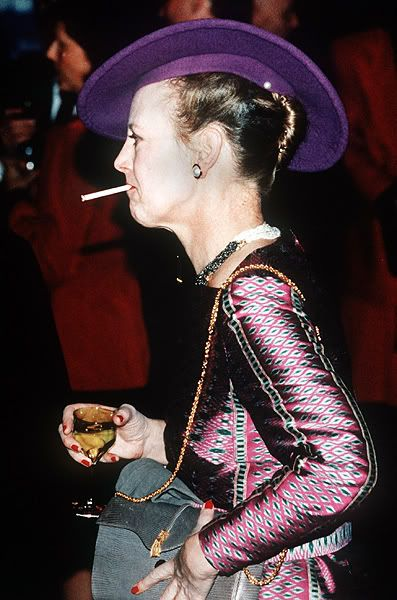 Queen Margrethe of Denmark: A smoke and a drink