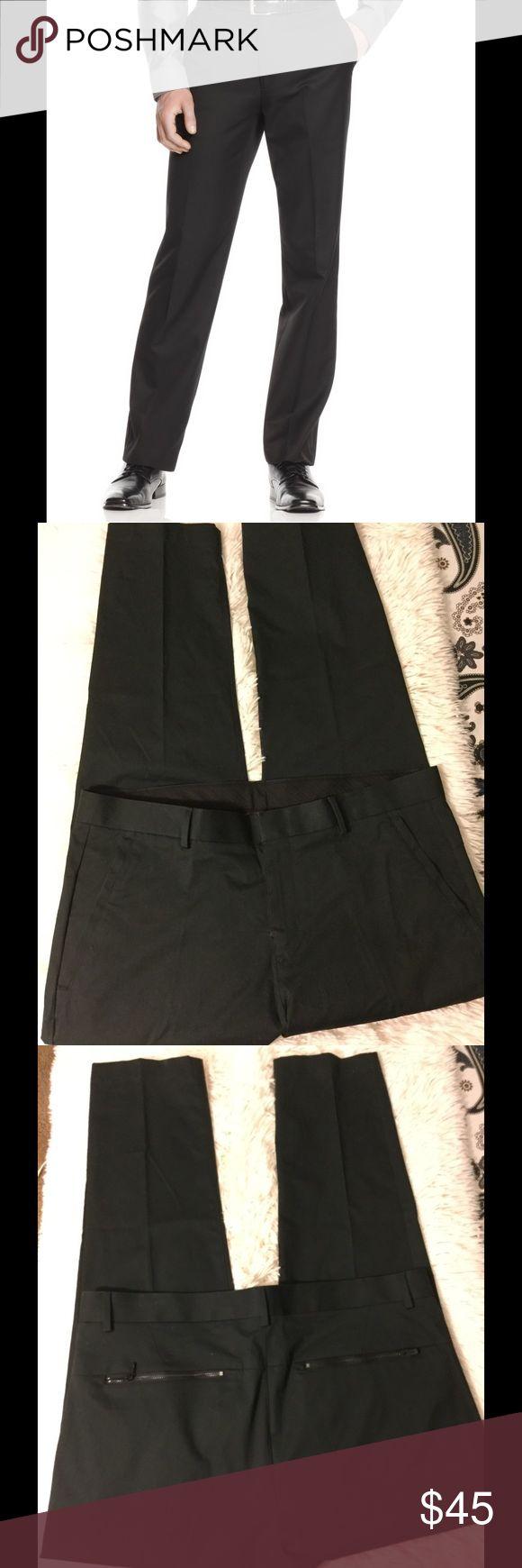⛵️Calvin Klein Men's Pants,Slim Fit Dress pants ⛵️ 🌹Calvin Klein Men's Pants, ultra Slim Fit Dress Pants   36 X 30  98% cotton and 2% Lycra perfect condition 🌹 Calvin Klein Pants