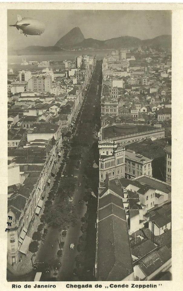Graf Zeppelin 1930 Rio de Janeiro