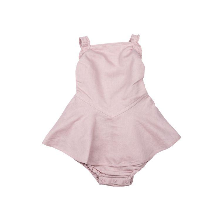 Rock Your Baby - Lana Romper In Pink
