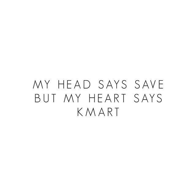 Them feels . @kmartaus your new products have us super conflicted, but you know the heart always wins in the end ❤️. #kmartaus #kmart #bargain #thebargaindiaries