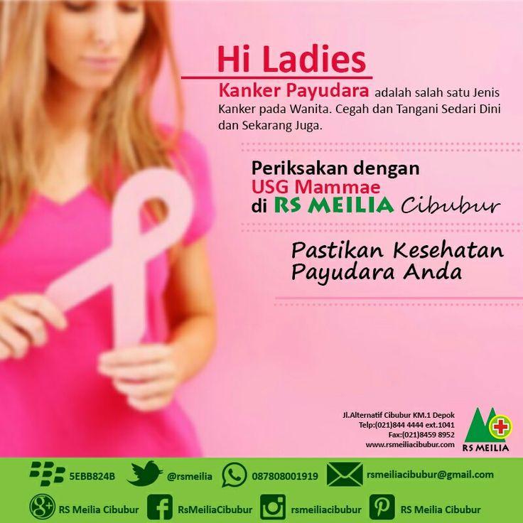 Periksa #payudara #usg #mammae #kanker #layanan #sehat #dokter #rsmeilia #cibubur #depok #cileungsi #bekasi #bogor #jakarta #tangerang #indonesia