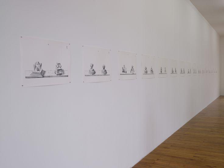 Raphaël Zarka , Sans Titre, 2011 , Série de 16 impressions en digigraphie , Production le Grand Café Courtesy galerie Michel Rein, Paris ,  © Marc Domage