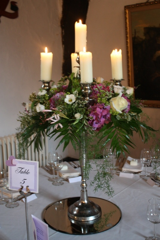 Candelabra table centrepiece check out allcovered http for Table centrepiece