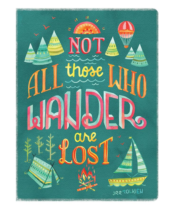 Studio Oh! Not All Those Who Wander Deconstructed Journal | zulily