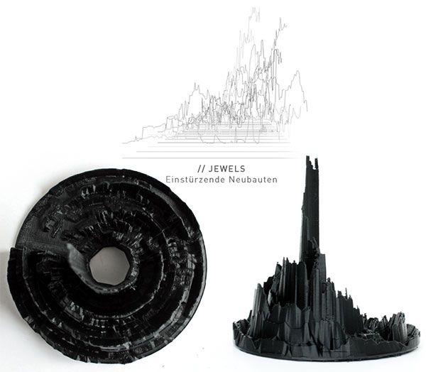 sonic5 3D realisation of 'Jewels' by Einstuerzende Neubauten