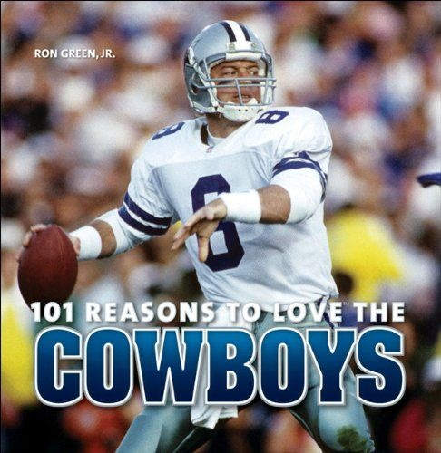 101 Reasons to Love the Cowboys:   The Dallas Cowboys -- America's Team -- share the record for most Super Bowl appearances (8) with the Pittsburgh Steelers and recorded 20 consecutive winning seasons (1966-85), in which they only missed the playoffs twice (1974 and 1984), an NFL record. From owner Jerry Jones to such coaches and players as Tom Landry, Jimmy Johnson, Roger Staubach, Troy Aikman, and Emmitt Smith, not to mention those gorgeous cheerleaders, the Cowboys have brought unfo...