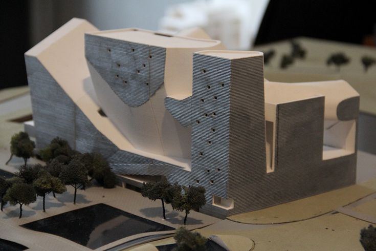 Tianjin Ecocity Ecology and Planning Museums by Steven Holl