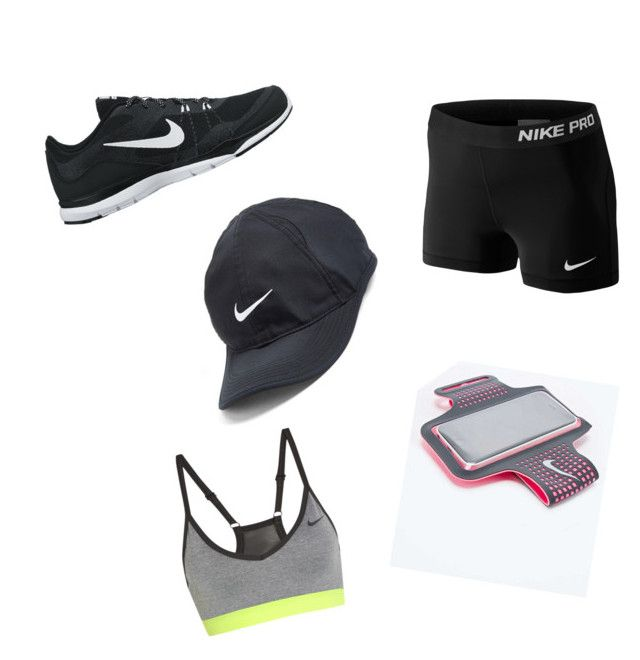 Nike.go exercise by annikenrabben on Polyvore featuring polyvore, мода, style, NIKE, fashion and clothing