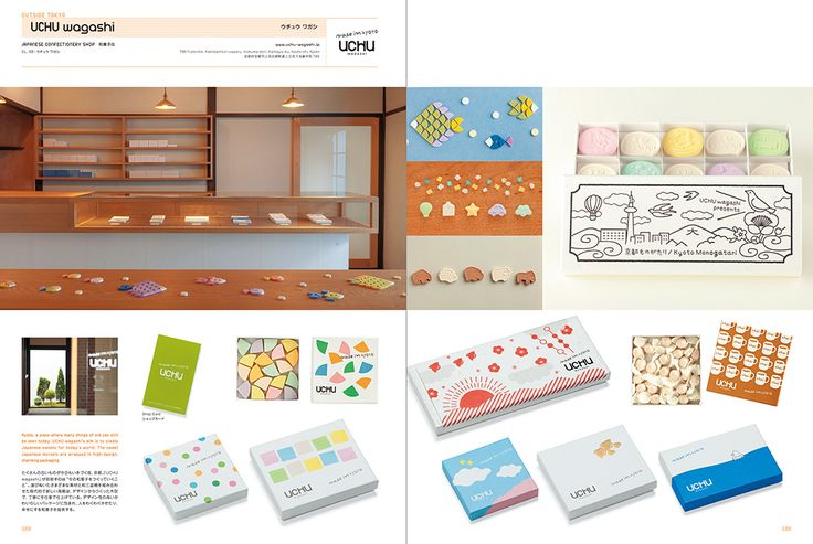UCHU wagashi: Shop Image Graphics in Tokyo+