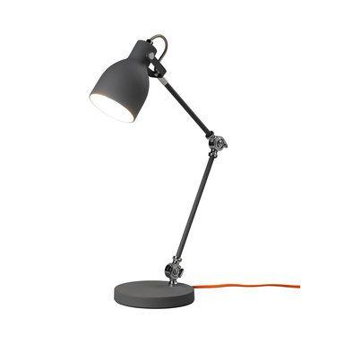 Skrivbordslampa, Concrete Grey