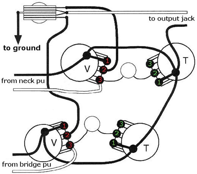 jack automanualparts wiring diagram guitar input electric