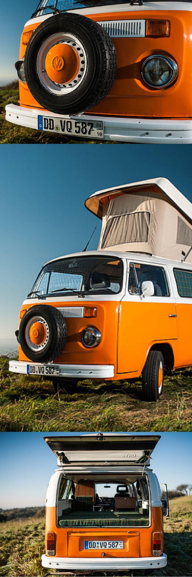 Nostalgischer Wohnmobilurlaub mit dem klassischen Volkswagen T2 #vw #vwbus #vwbulli #camper #camping #travel #wohnmobil #t2