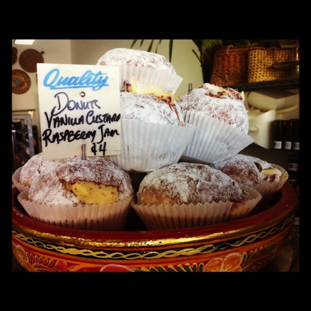 Freshly baked donuts, claiming the name of Best in Sydney! Thanks to The Cook and Baker!