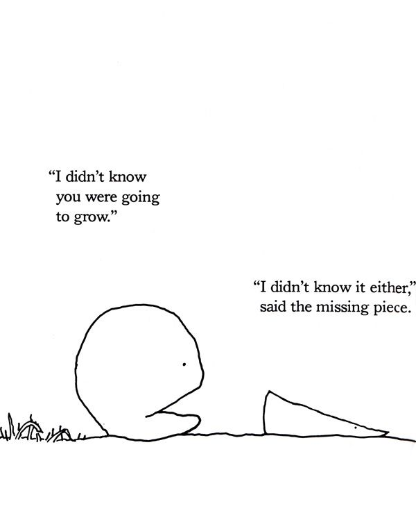 The Missing Piece Meets the Big O: Shel Silverstein's Sweet Allegory for the Simple Secret of Love and the Key to Nurturing Relationships | Brain Pickings