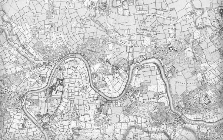 Rocque's Map 1741-5   Brentford & Chiswick Local History Society